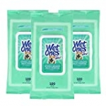 Wet Ones for Pets Multi-Purpose Dog Wipes with Vitamins A, C + E – Fragrance-Free Dog Wipes for All Dogs Wipes with Wet Lock Seal – 300ct Wipes Total