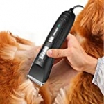 Dog Clippers 12V Powerful Motor Low Noise Corded Professional Electric Dog Trimmer for Grooming for Dogs Cats Pets