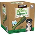 Kirkland Signature Doggy Dental Chews: Grain-Free, Gluten-Free – (72 Treats)