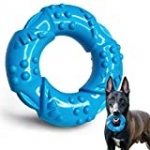 EASTBLUE Dog Chew Toys for Aggressive Chewers: Ultra-Tough Natural Rubber Puppy Chew Toy Nearly Indestructible Dog Toys for Large and Medium Breed