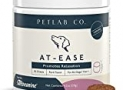 Petlab Co. At-Ease Calming Chews With Suntheanine, L-Tryptophan, and Passion Flower | Supports Relaxation, Calmness, Mental Balance | Non-Drowsy & Deliciously Pork Flavoured | Packaging May Vary