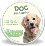 Flea and Tick Collar for Dogs – 8 Month Protection – One Size Fits All