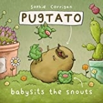 Pugtato Babysits the Snouts