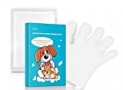 Waterless Dog Cat Bath Wipes Cleaning Deodorizing Grooming Gloves Wipes For Face And Paws Puppy Traveling.Pure Plant Extracts Without Irritation No Rinse Fresh Clean Dog Cat Grooming Gloves ,