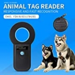 ISENVO 190i Bluetooth Pet Microchip Scanner Rechargeable RFID EMID Micro Chip Reader Scanner 134.2kHz Standard FDX-B ISO11784/ISO11785 Pet Chip ID Scanner for Animal/Pets/Dogs/Cats/Pigs