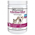 Vet Classics ArthriEase-Gold Hip & Joint Support for Dogs, Cats – Pet Health Supplement Powder – Alleviates Aches, Discomfort – for Flexibility, Healthy Joint Function – Antioxidants – 1 Lb.