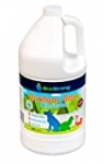 Eco Strong Outdoor Odor Eliminator   Outside Dog Urine Enzyme Cleaner – Powerful Pet, Cat, Animal Scent Deodorizer   Professional Strength for Yard, Turf, Kennels, Patios, Decks (128 OZ)