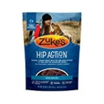 Zuke's Natural Hip & Joint Dog Treats; Hip Action Recipe; Made in USA Facilities, Beef, 16 oz