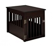 BarkWood Pet Crate End Table – Cappuccino Finish