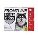 FRONTLINE Shield for Dogs Flea & Tick Treatment, 81-120 lbs, 3ct