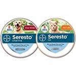 Seresto Flea and Tick Collar, 8-Month Flea and Tick Collar – Large Dog and Cat Bundle