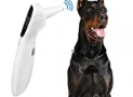 Dog Thermometer Non Contact, Ear Thermometer for Dogs and,Vet Thermometer,Fast Measure pet's Temperature in 1 Second,12 Month Warranty