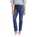 Levi's Women's Classic Straight Jeans, Lapis Dark Horse, 27 (US 4) S