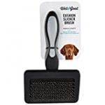 Petco Brand – Well & Good Black Cushion Slicker Dog Brush, 8″ L X 4.5″ W, 8 IN