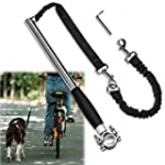 Unicam Retractable Bicycle Dog Leash, Hands Free Bike Leash for Pet Dogs, Safety Dog Bike Leash Fit for Outdoor Exercise, Dog Walking Essentials, Easy to be Installation and Removal.