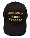 Windcatcher Operation Restore Hope (Somalia) Veteran Ribbon Baseball Cap – Black