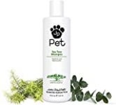 John Paul Tea Tree Shampoo for Soothing Moisturizing Skin 16 fluid ounces by John Paul