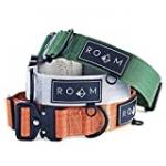 ROAM Premium Dog Collar – Adjustable Heavy Duty Nylon Collar with Quick-Release Metal Buckle (Alaska Daybreak, Size 3)