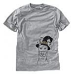 Halloween Ace The Doberman Pinscher Dog Men's/Women's Triblend T-Shirt Unisex Crewneck Medium Grey