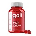 Apple Cider Vinegar Gummy Vitamins by Goli Nutrition – Immunity & Detox – (1 Pack, 60 Count, with The Mother, Gluten-Free, Vegan, Vitamin B9, B12, Beetroot, Pomegranate)