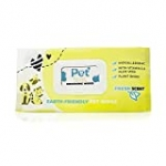 Plant Based Pet Cleaning Wipes – Aloe & Vitamin-E Dog Grooming Wipes – Dog Wipes Deodorizing Hypoallergenic – Earth Friendly, Biodegradable, Alcohol Free Safe Pet Wipes for Dogs -100 Ct