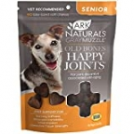 ARK NATURALS Gray Muzzle Old Dogs! Happy Joints! Vet Recommended to Support Cartilage and Joint Function, Glucosamine, 90 Soft Chews