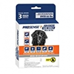 ProSense 7 Flea & Tick Prevention and Control for Dogs Over 66 lb – 3 Month Supply (P-87132)