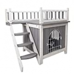 Petsfit 28″ LX21 WX25 H Indoor Cat House