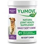 YuMOVE Daily Chews | Hip and Joint Supplement for Large & X Large Dogs with Glucosamine, Chondroitin, Hyaluronic Acid, Green Lipped Mussel | 60 Chews – 1 Month's Supply