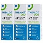 Spectrum Thea 3 X Thealoz Duo Preservative Free 10Ml For Severe Dry Eyes