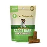 Pet Naturals of Vermont – Scoot Bars, Natural Anal Gland Support Supplement for Dogs, 30 Chew Bars
