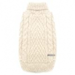 cyeollo Turtleneck Dog Sweater Pullover Knitted Classic Sweaters with Sequin Keep Warm for Doggie Dog Clothes for Dogs
