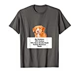 Funny Shedding Dog Nova Scotia Duck Tolling Retriever T-Shirt