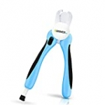 Dog Nail Clippers Large Breed – Easy to Use Dog Nail Trimmer and Toenail Clippers – Quick Sensor, Sharp Cuts and Safety Guard to Clip with Confidence