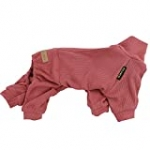 Fitwarm Patchwork Dog Pajamas Lightweight Knitted Dog Clothes Turtleneck Thermal Puppy PJS Knitwear Doggie Outfits Cat Onesies Pet Jumpsuits Red XX-Large