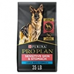Purina Pro Plan Sensitive Stomach and Stomach Large Breed Dog Food, Salmon Formula – 35 lb. Bag